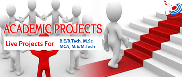 Academic Project for BE/B.Tech/MCA; Live Project Training